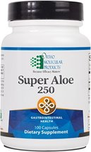 Ortho Molecular - Super Aloe 250 - 100 Capsules image 2