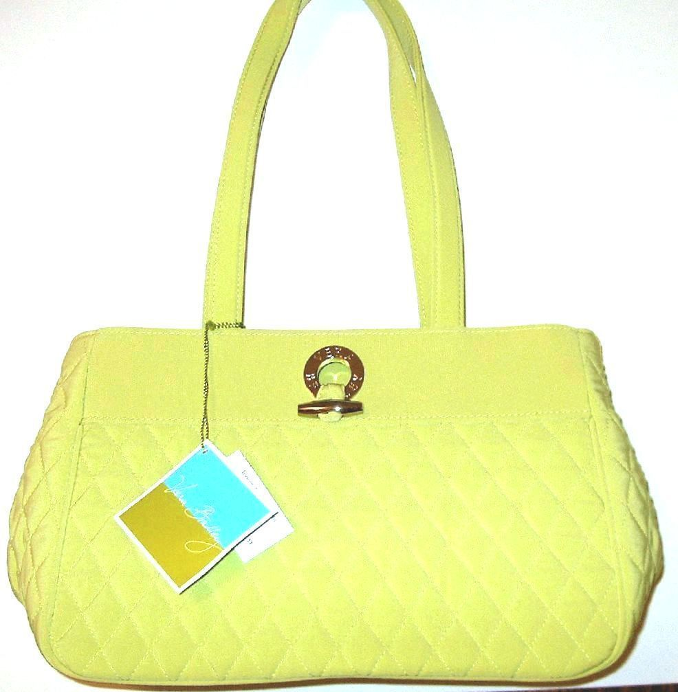 Vera bradley toggle tote key lime   have 3  toggle is silver 61 usee