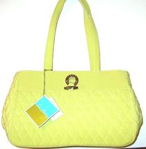 Vera bradley toggle tote key lime   have 3  toggle is silver 61 usee thumb200