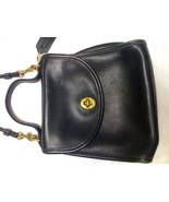 COACH VINTAGE BLACK SHOULDER BAG M5C 9983 - $43.99