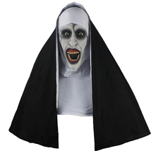 2018 The Nun Full Head Cosplay Horror Movie Mask Valak Conjuring Scary Halloween - £29.91 GBP
