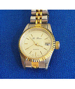 Le Baron Two Tone Sport Style Woman's Quartz Wrist Watch - $15.00