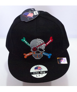 Brand New, Skull & Cross Bones Baseball Caps by City Big - Medium (7 1/4) - $3.95