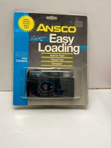 ANSCO Vision Fully Automatic Easy Load Focus Free 35mm Camera Flash f5.6... - $11.30