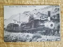 PIONEER TRAIN AT CENTRAL CITY,COLORADO.VTG POSTCARD*P22 - $18.69