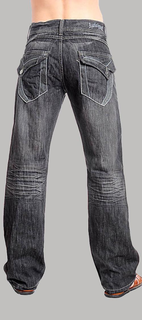 Men's Black Denim Jeans