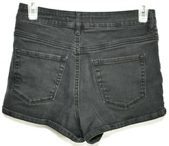 Bullhead Denim Black Super Hi-Rise Shorty Shorts Size 5 image 1