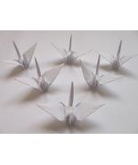100 small white origami cranes - $15.00