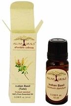 Indian Holy Basil Tulsi Essential Oil 100% Pure Undiluted Therapeutic Grade for