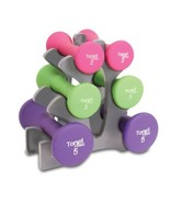 Tone Fitness 20-Pound Hourglass Shaped Dumbbell Set - €29,37 EUR