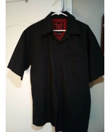 INDEPENDENT TRUCK COMPANY MENS CASUAL SHIRT  SIZE L--BLACK---FREE SHIP--VGC - $13.68