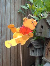 Whirligig Pooh Bear, Handpainted,Handcrafted,wi... - $58.00