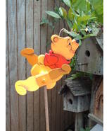 Whirligig Pooh Bear, Handpainted,Handcrafted,windmobile,  - $58.00