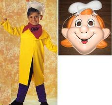 KELLOGG'S SNAP COSTUME WITH PLASTIC MASK 8/10 CHILDS - $25.00