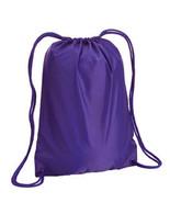 "PURPLE Liberty Bags 8881 S 14"" x 18"" matching BOSTON drawstring backpack - $3.33"