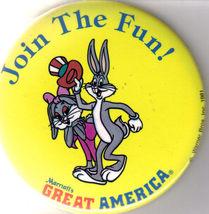 MARRIOTT'S GREAT AMERICA Promo Button  - $2.95