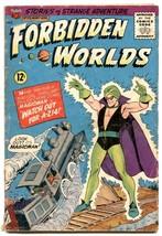 Forbidden Worlds #124 1965- MAGICMAN - G - $30.26