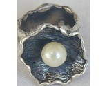 White pearl ring hand made sr154 thumb155 crop