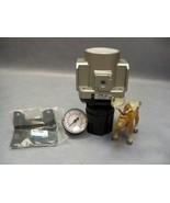 SMC AR50-06 Regulator Modular 0.05 to 0.85 MPa 160 Gauge and Bracket Set - $75.17