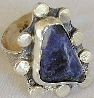 Lapis raw ring SR82