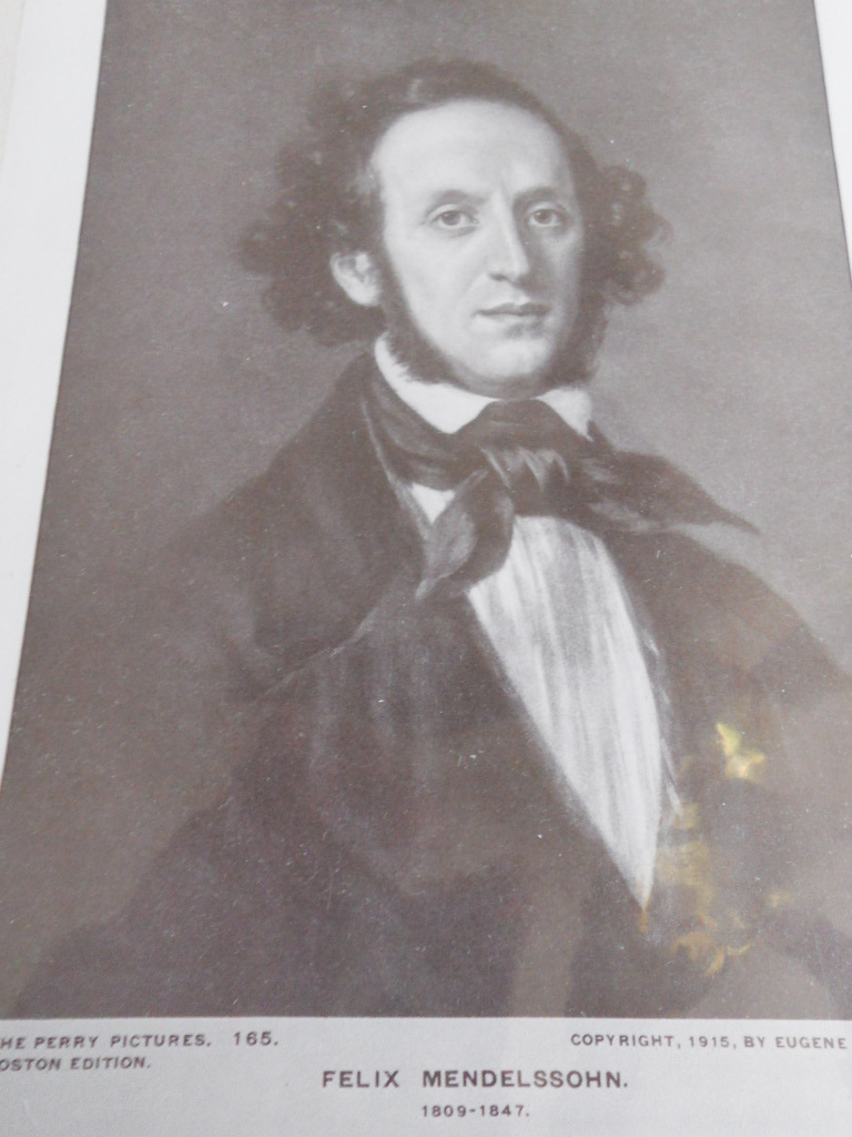 Vintage Prints Perry Pictures Co. Set of 6 Famous Composers