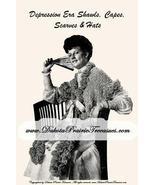Antique Depression Era SCA Shawls Capes Patterns CD'31! - $12.99