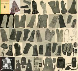 ANTIQUE LEATHER GLOVE MAKING SCA REFERENCE INST CD '29!