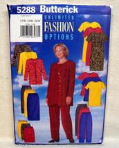 Butterick PLUS SZ.#5288 Jacket Dress Tunic Skirt Pant Sz 22W-24W-26W  image 1