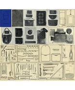 Antique Leather Work Purse Purses Bag Bags Pattern CD!3 - $12.99
