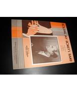 Sheet Music Holding My Honey's Hand Bernie Cummins 1932 Walter Hirsch Al... - $8.99