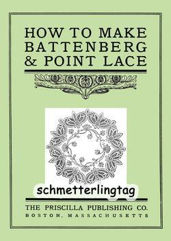 Battenberg Point Lace Book Instructions 1900
