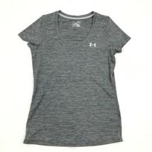 NEW Under Armour Shirt Womens Vneck HeatGear Top Medium M Jersey Athleis... - $15.03
