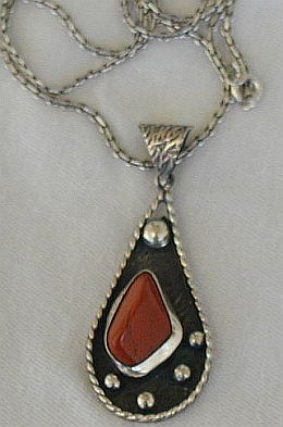Blood stone pendant P20