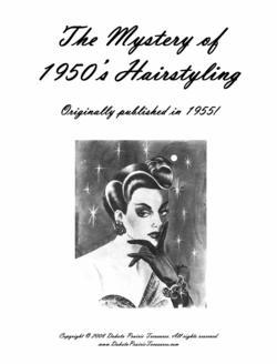 1955 Hairstyles Book Illustrated 50s Hair Styles How to