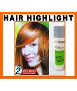 Hair COLOR HIGHLIGHT Cream Hair Dye Permanent - Punk Glam Rock Emo RED O... - $4.88