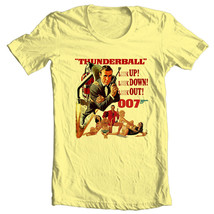 James Bond T-shirt 007 Thunderball Sean Connery vintage movie 1970s cotton tee image 2