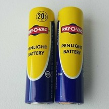 Vintage Ray-O-Vac Flashlight Battery Made In USA **DISPLAY ONLY** Prop - $40.31