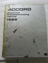 B 1986 Honda Accord Electrical Troubleshooting Service Manual OEM Worksh... - $7.08