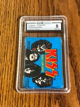 KISS ORIGINAL PACK OF BUBBLE GUM CARDS SERIES 1 ~ SEALED GRADED NEAR MIN... - $222.75