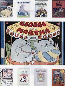 (9)BKS-BEAR;POOH;GEO&MARTHA;THAT DOG;Dan& Sandy;Let's Go Swimming;Poodle;Skates;
