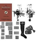 Auto Knitter Machine Book Knitting Patterns Knit 1923 - $14.99