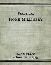 1912 Millinery Book Make Hats Titanic How to Children - $14.99
