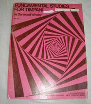 Fundamental Studies for Timpani by Whaley - $5.50