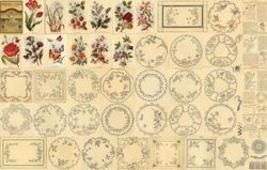 Antique Victorian Embroidery Doily Patterns CD 1899! BA - $14.99