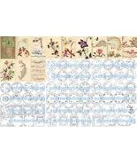 Antique Victorian Embroidery Reference Patterns CD 1889 - $12.99