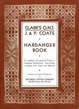 Antique EDWARDIAN Hardanger Needlework HC Book c1910! - $12.99