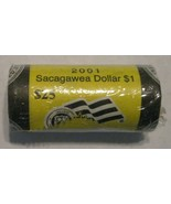 2001-D Sacagawea Dollar original mint wrapping Roll of $25 CP8311 - $49.95