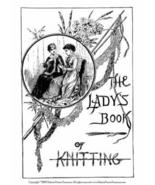 Antique Victorian Dickens Stocking Knitting SCBook 1886 - $14.99