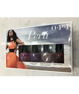 OPI Peru Collection Mini Pack - 4 COLORS .125oz Each - $11.99