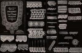 Antique Wwi Crochet &Amp; Tatting Patterns Cd Vintage '19 - $12.99